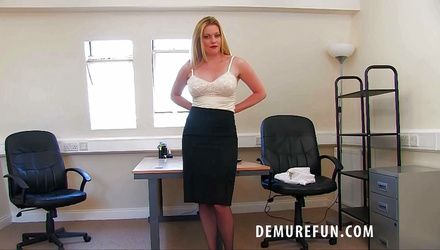 Horny He bends her over the desk Videos - Horny Tube Page 1